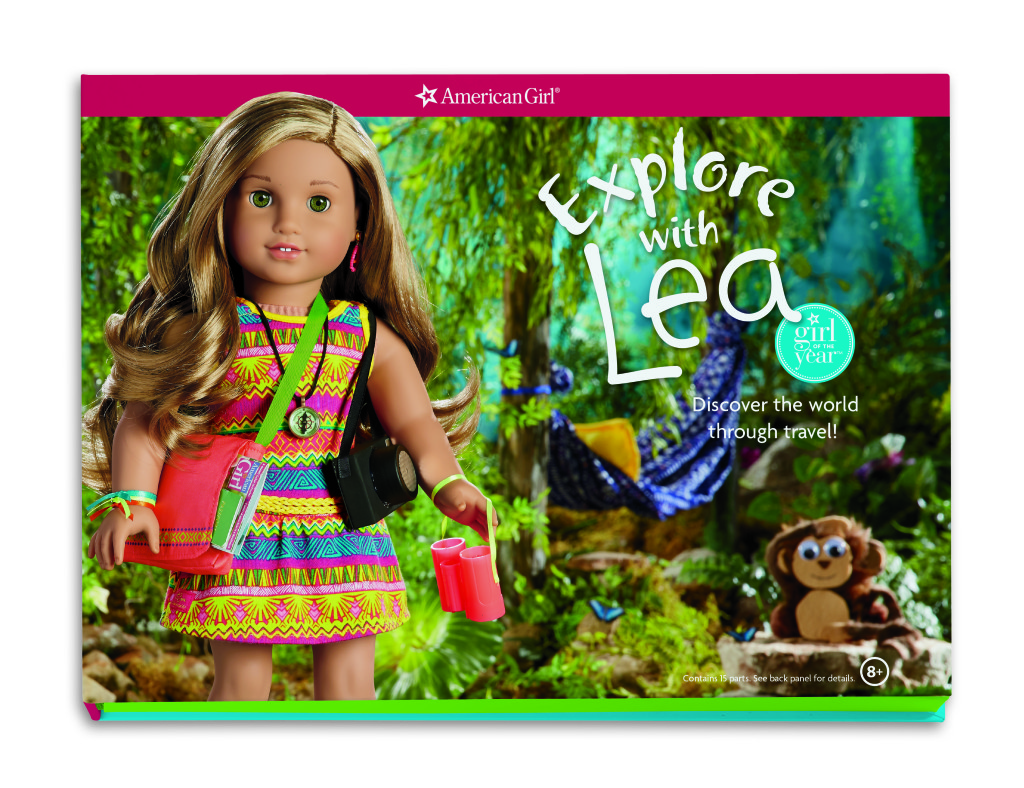 American Girl's Lea Clark marries fun with education and we are giving her away at http://www.thestatenislandfamily.com!