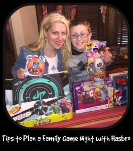 Tips to Plan a Family Game Night with Hasbro