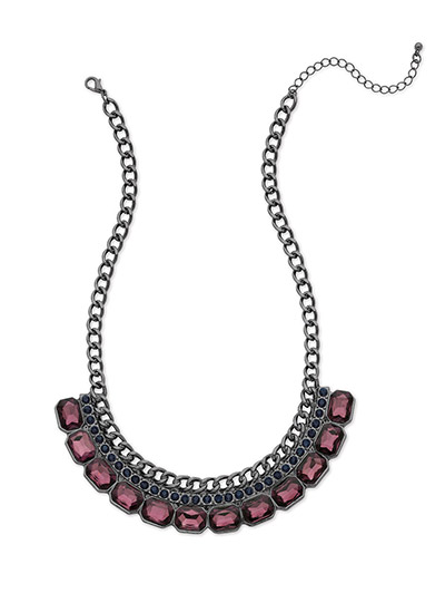 Win this VIVI Jewelry's STRIKING A BALANCE GARNET NECKLACE • Genuine crystal from http://www.thestatenislandfamily.com