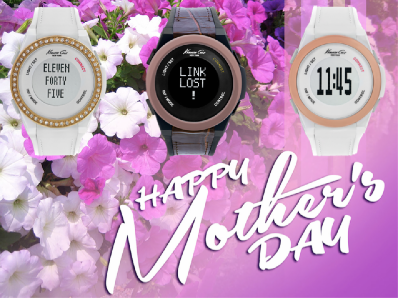 For the mom who LOVES her tech with some bling gift her a tech-trendy gift at an affordable price with Kenneth Cole Connect. The sophisticated line of smart watches for $150 or less boasts 12 versatile styles -- from a sleek stainless steel bracelet to a summery white strap -- so that you are sure to find one that fits her unique style