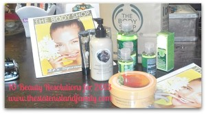 10 beauty resolutions from The BODY SHOP and a mega fabulous giveaway