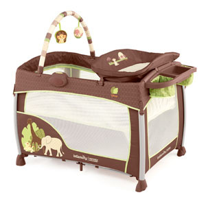 Is your man a NEW dad this Holiday? Then we've got an InGenuity's Disney Baby THE LION KING Premier Washable Playard giveaway for you!