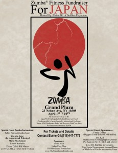 Help us raise money for Japan at our Staten Island Zumba Fitness Fundraiser for Japan!