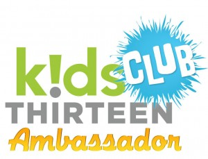 I am a PBS Kids Club 13 Ambassador!