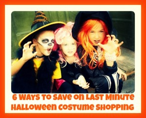 6 Ways to Save on Last Minute Halloween Costume Shopping