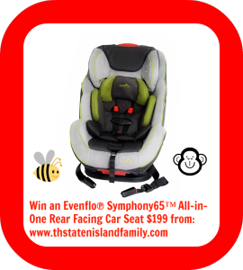 Avoid the ROYAL PARENTS SNAFU! We are GIVING AWAY an Evenflo® Symphony65 All-in-One Rear Facing Car Seat  featuring SureLatch® Connectors and Sharing PROPER Car Seat Installation techniques!