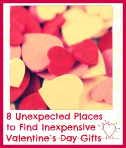 8 Unexpected Places to Find Inexpensive Valentine's Day Gifts