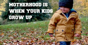 No one tells you that the hardest part of motherhood is when your kids grow up