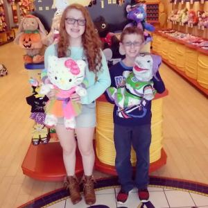 Tips and Tricks to get Crafty with the kids and a Build-A-Bear $40 Giveaway!