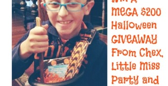 Win a Mega $200 Halloween Giveaway from Chex, Little Miss Party In a Box and Thestatenislandfamily.com