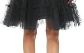 alice + olivia Darcy Tulle Skirt