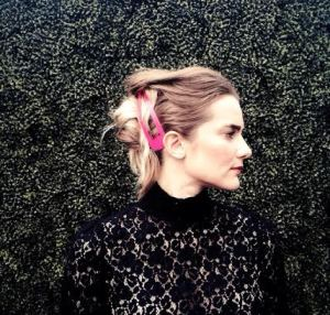 Holiday Hair How To: The Disheveled French Twist