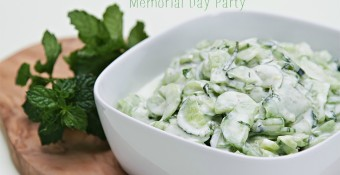 Four Healthy Recipe Substitutions for Your Memorial Day Party