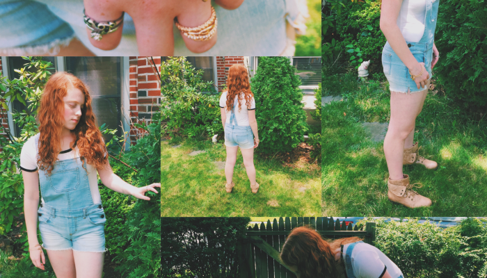 Styled By Madison: 5 Ways to Style a Plain White Tee from Garage Clothing for Back to School