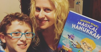 Win a Personalized Magical Hanukkah Book from Hallmark!