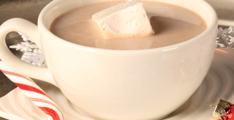 Let guests get creative by creating a hot chocolate bar complete with a variety of mix-ins that everyone can enjoy.