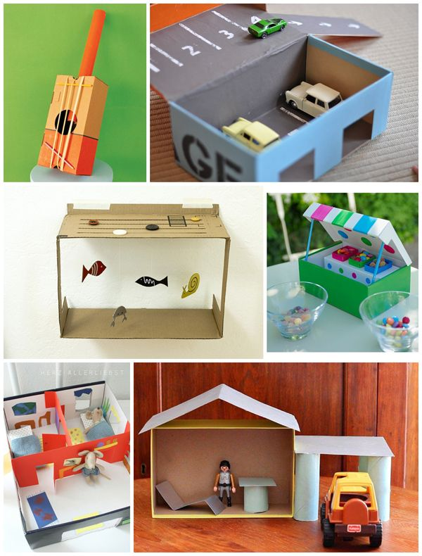 Check out these awesome 10 INVENTIVE SHOEBOX CRAFTS at http://www.hellowonderful.co/post/10-INVENTIVE-SHOEBOX-CRAFTS