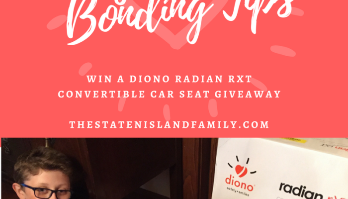 Father's Day Baby and Dad Bonding Tips and a Diono radian rXT Convertible Car Seat Giveaway