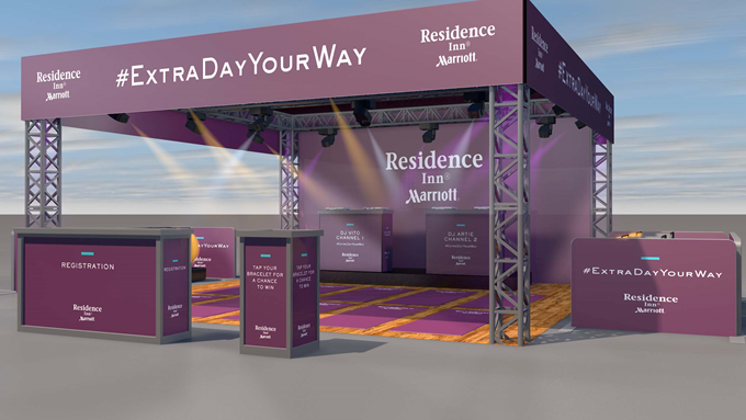 "Enjoy Residence Inn's #ExtraDayYourWay6AM – 10AM, Strike a Pose at Daybreak: Kick off the workweek with a complimentary yoga session and a legendary ""silent disco"" street party. While two DJs battle it out, use wireless headphones to dance to your favorite mix. Location: Flatiron North Plaza at 23rd Street and 5th Avenue"