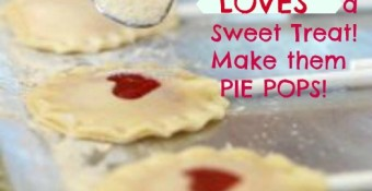 Give your Littlest Loves a Sweet Treat: Make them PIE POPS!