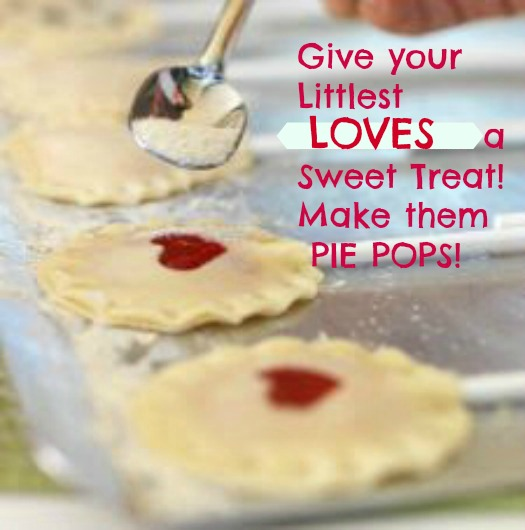Give your little loves a sweet treat! Make them PIE POPS!