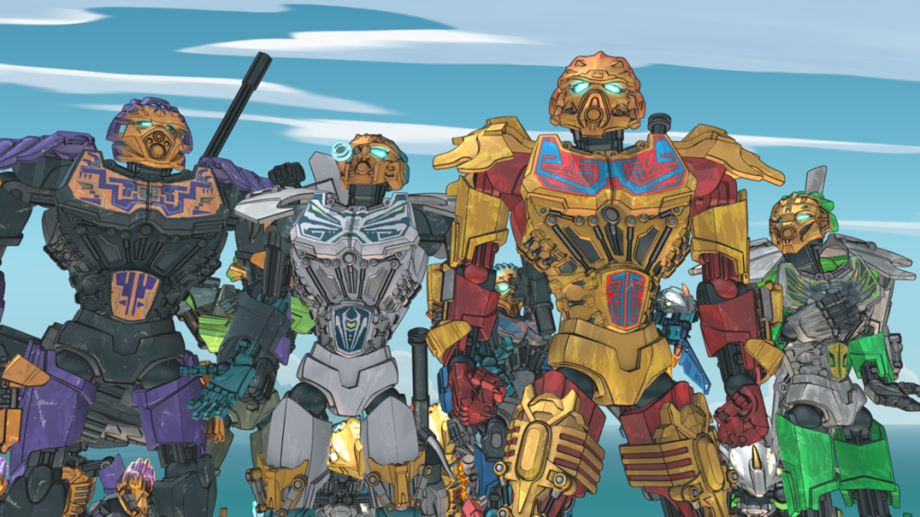 Check out season one of LEGO Bionicle: The Journey to One