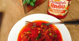 Taste Testing My New Favorite Ragu®  Homestyle Pasta Sauce in New York City