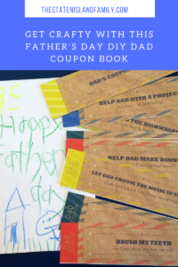 Get Crafty with this Father's Day DIY Dad Coupon Book