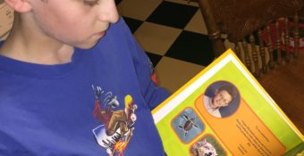 Reading is so much more fun when your child is In the story!