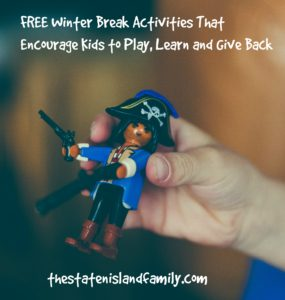 FREE Winter Break Activities That Encouarge Kids to Play, Learn and Give Back