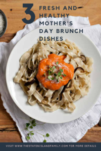 Fresh and Healthy Mother's Day Brunch Dishes