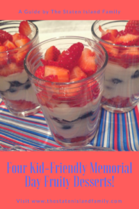 Four Kid-Friendly Memorial Day Fruity Desserts!