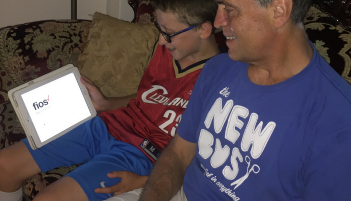 Four Ways Father Son Bonding is a CINCH with Verizon #FiosNY
