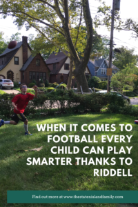 When it Comes to Football Every Child Can Play Smarter Thanks to Riddell